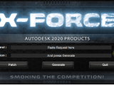 X-Force 2020 keygen