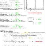 Concrete Box Culvert Design Spreadsheet