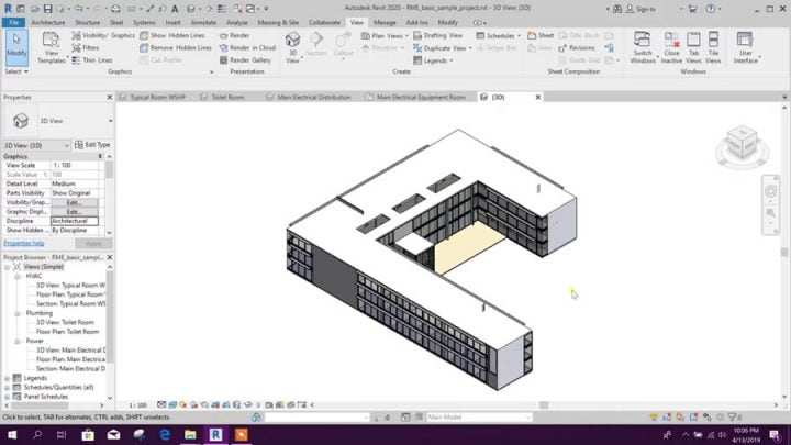 Revit 2020 Tutorial for Beginners – General Overview