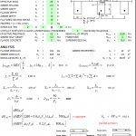 Prestressed Composite Section Design Spreadsheet