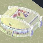 Amsterdam Arena Stadium Free 3D Drawing