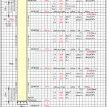 Bored Pile Capacity Calculation Spreadsheet