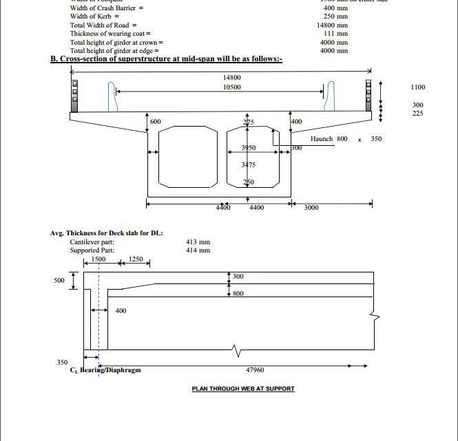 Bridge Structural Design Report Example