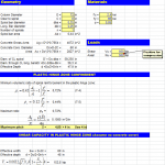 Column Shear Calculation Spreadsheet