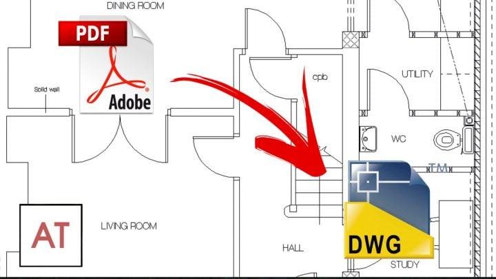 Convert PDF to AutoCAD DWG Free