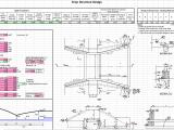 Drop Structure Design Spreadsheet
