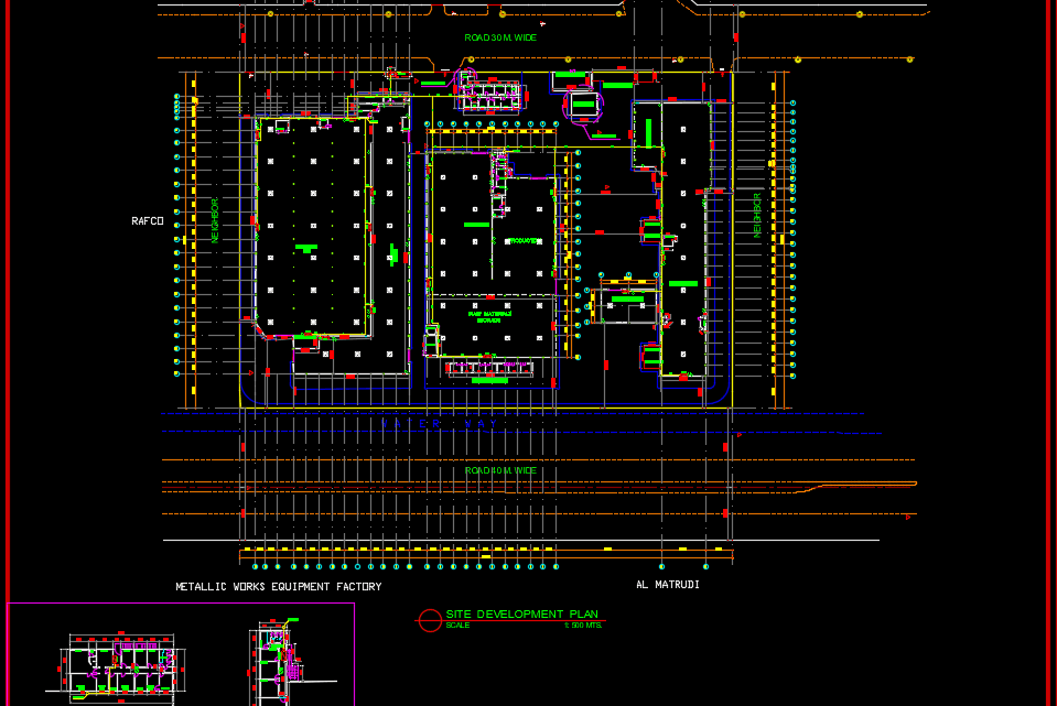 Fire Fighting System Layout Free Drawing