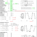 Flexural Design for Prestressed Member Spreadsheet
