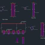 Detail of Raft Foundation Free DWG