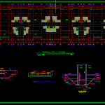 Raft Foundation Concrete Details Free Autocad Template