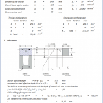 Resistance Moment of Rectangular Beam Spreadsheet