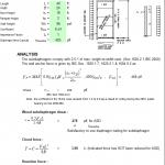 Subdiaphragm Design Spreadsheet