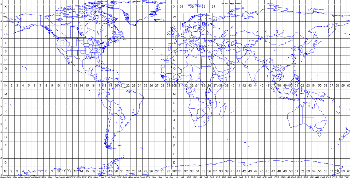 Survey Map Projections Spreadsheet