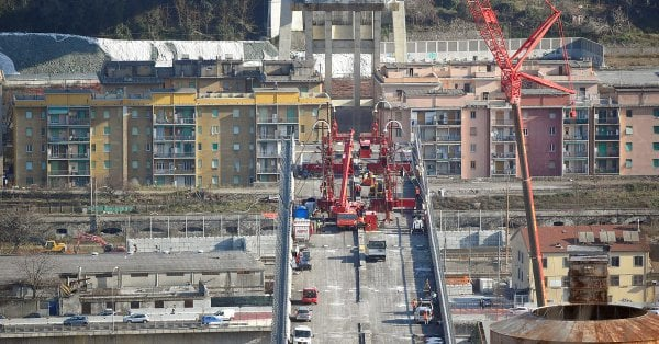 New Genoa bridge expected to be completed by April 2020