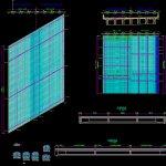 Deck Slab Reinforcement Details Autocad Drawing