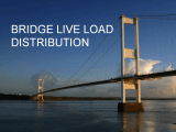 Bridge Live Load Distribution Presentation