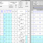 Bar Bending Schedule Excel Sheet