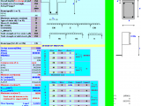 Beam Analysis ans Design to BS 8110.1985 Excel Sheet