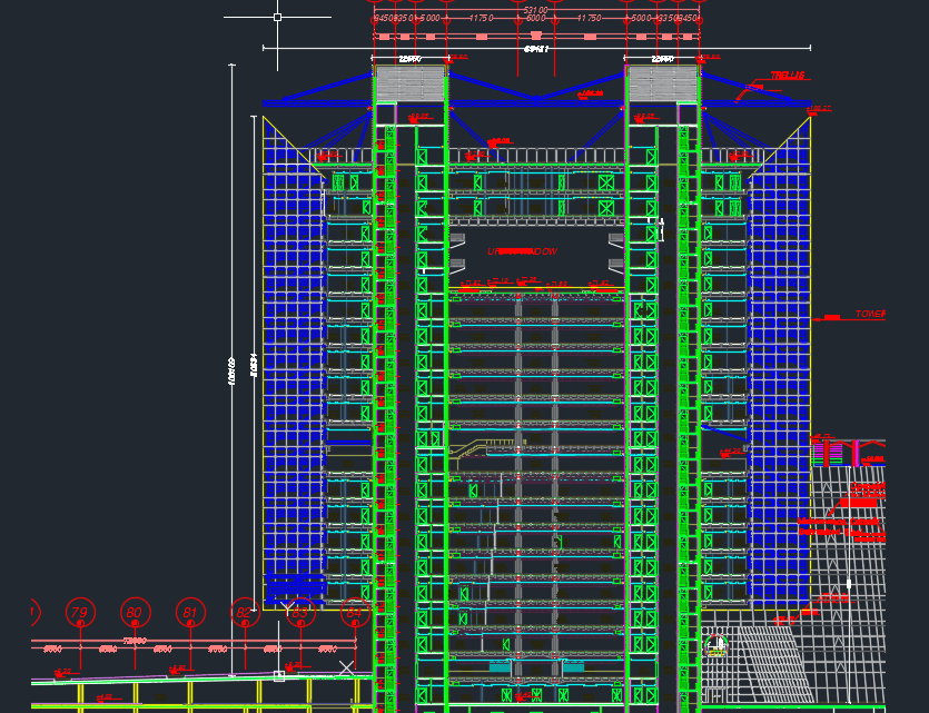 Curtain Wall Details Autocad DWG File