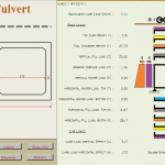 Excel Sheet Culvert Box calculation and drawing