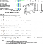 Guardrail Design Based on AISC-ASD and ACI 318-02 Spreadsheet