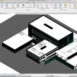 Hospital 3D Structure Revit Model