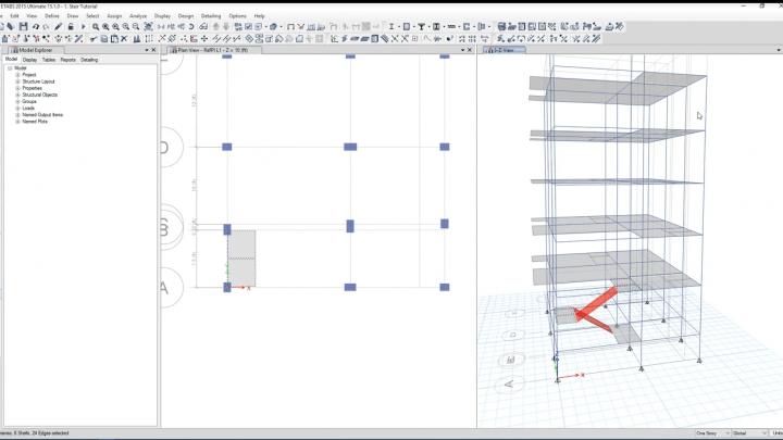 How to Model Stair in ETABS Easily