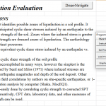 Liquefaction Analysis Excel Sheet