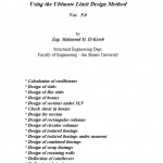 Reinforced Concrete Design Excel Sheet