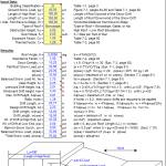 Snow Loading Analysis Excel Sheet