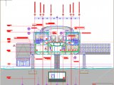 Railway Station Cross Section Autocad DWG File