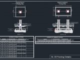 Reinforced Concrete Footing Details Autocad Drawing