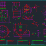 Structural Details Of Clinker Unburnt Silo – Autocad Drawing