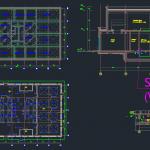 Sewage Treatment Plant – Autocad Drawing
