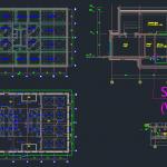 Sewage Treatment Plant – Autocad Drawing