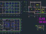Sewage Treatment Plant - Autocad Drawing