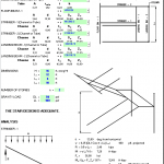 Steel Stair Design Based on AISC 360-10 Spreadsheet