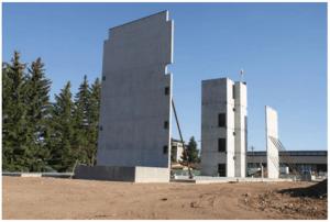 Tilt-up wall panel construction