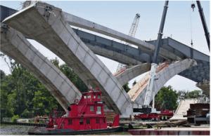 Woodrow Wilson Bridge replacement across the Potomac River near Washington, DC