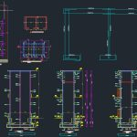 Elevator Reinforcement Free DWG Drawing