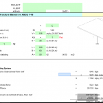 Wind Analysis for Shade Open Structure Spreadsheet Based on ASCE 7-16
