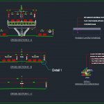 Bridge Typical Cross Section Details Autocad Free DWG