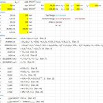 AISC-ASD89 calculation for Beam-Column member Spreadsheet