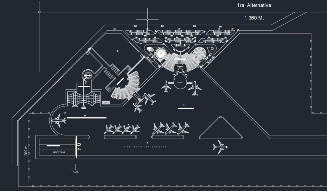 Airport Layout Plan Autocad Free Drawing