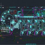 Asbuilt Drainage Layout Plan Autocad Drawing