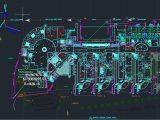 Asbuilt Drainage Layout Plan Autocad Drawing