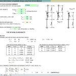 Column Deformation Compatibility Design Using Finite Element Method Spreadsheet