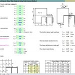 Discontinuous Shear Wall Analysis Using Finite Element Method Spreadsheet