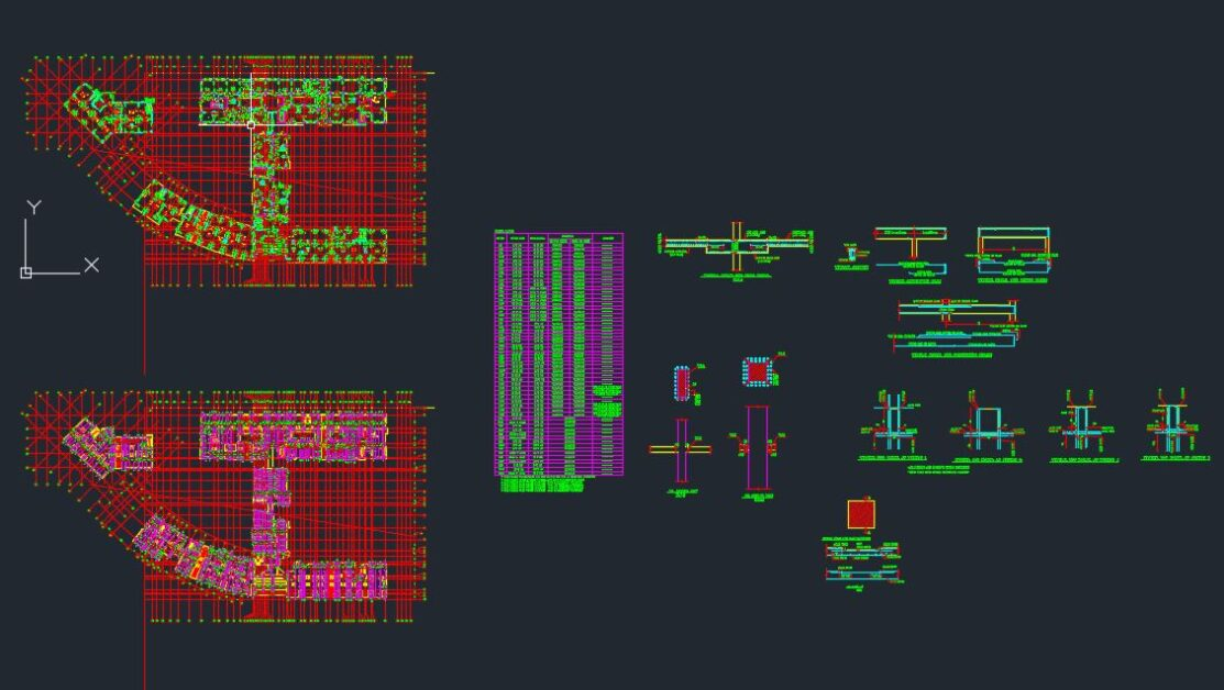 Ground Floor Ceiling Details Autocad Free Drawing