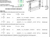 Handrail Design with Uniform and Concentrated Load Spreadsheet